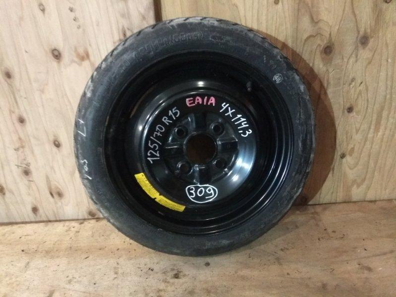 Запасное колесо Mitsubishi Galant EA1A 4G93 1996