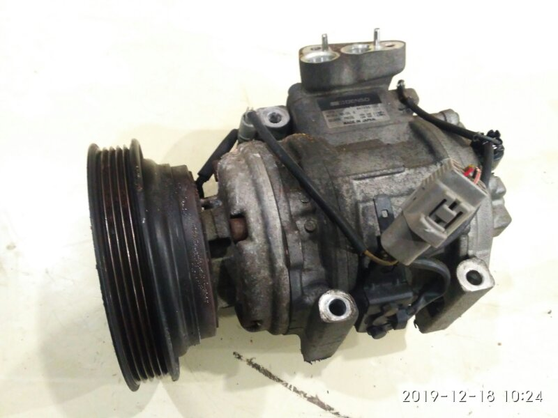 Компрессор кондиционера Toyota Carina Ed ST200 4S-FE 1994