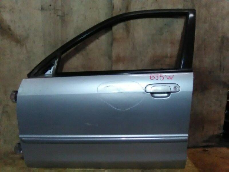 Дверь боковая Mazda Familia S-Wagon BJ5W ZL 1998 передняя левая