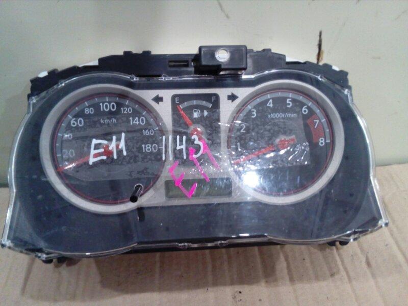 Комбинация приборов Nissan Note E11 HR15DE 2005