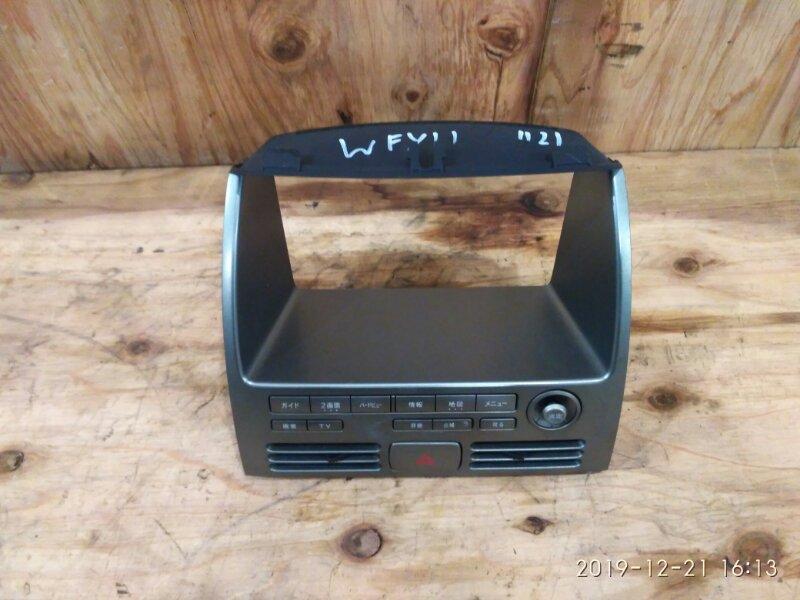 Рамка магнитофона Nissan Wingroad WFY11 QG15DE 2000