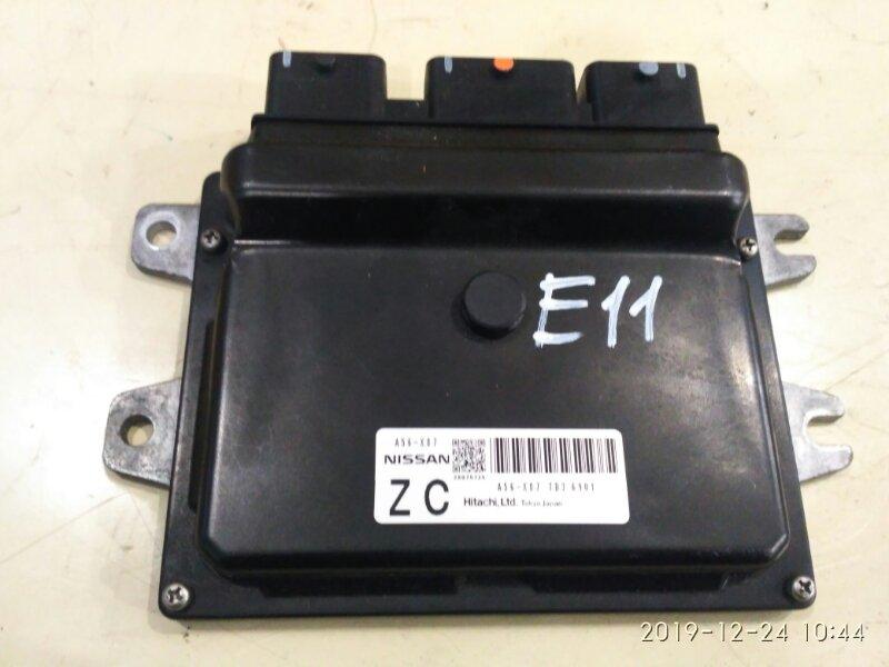 Блок управления двс Nissan Note E11 HR15DE 2004