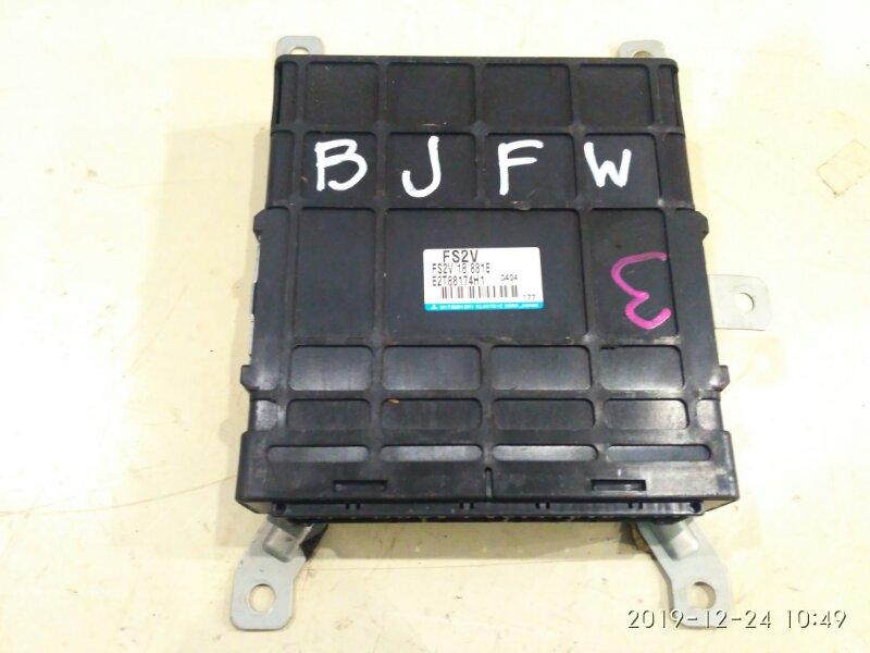 Блок управления двс Mazda Familia S-Wagon BJFW FS-ZE 2000