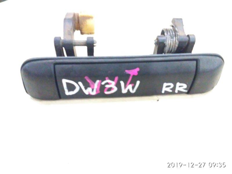 Ручка наружная Mazda Demio DW3W B3-ME 1998 задняя правая