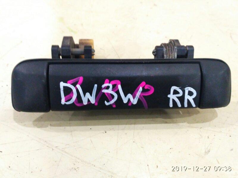 Ручка наружная Mazda Demio DW3W B3-ME 1999 задняя правая