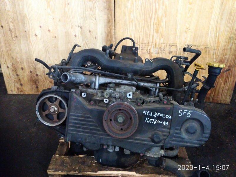 Двигатель Subaru Forester SF5 EJ20 1998