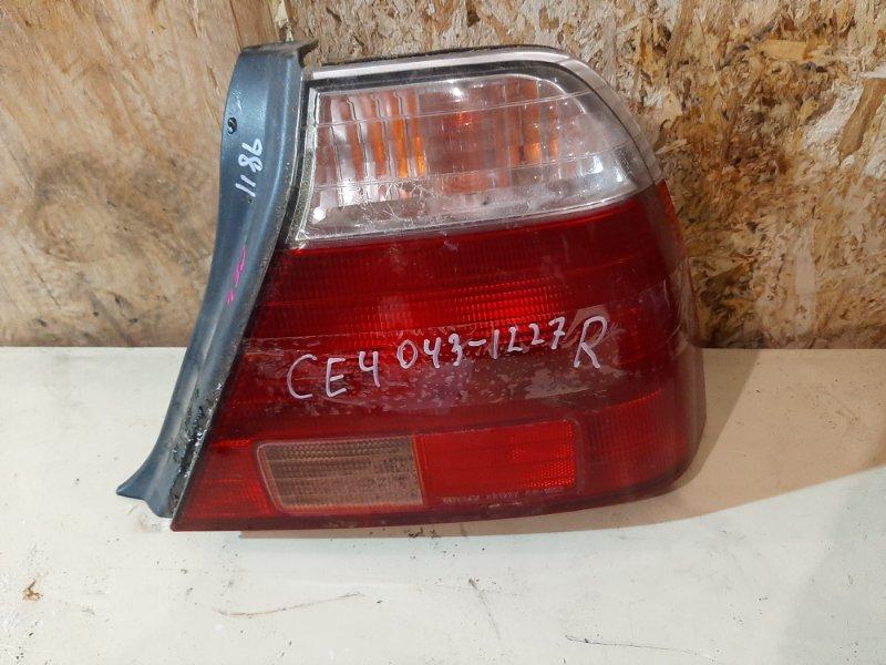 Фонарь стоп-сигнала Honda Ascot CE4 G20A 1994 правый