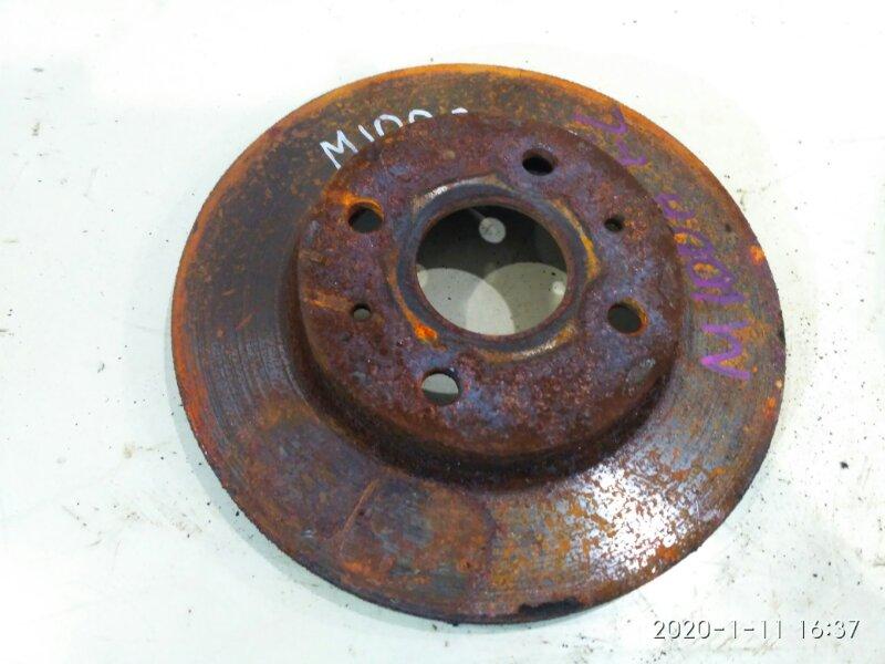 Диск тормозной Toyota Duet M100A EJ-VE 2000 передний