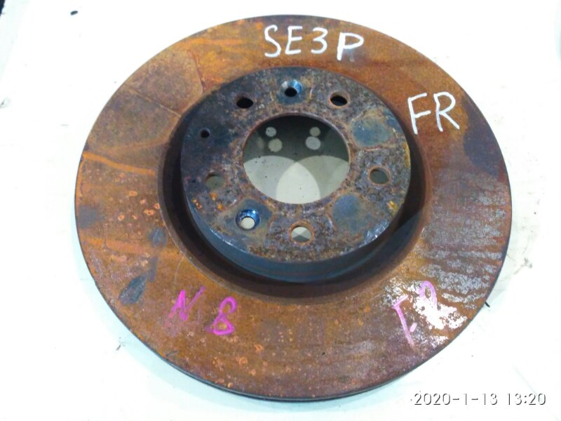 Диск тормозной Mazda Rx8 SE3P 13B-MSP 2006 передний