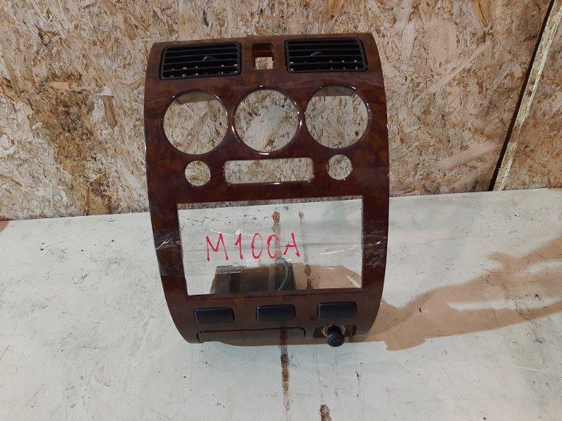 Рамка магнитофона Toyota Duet M100A EJ-VE 2000
