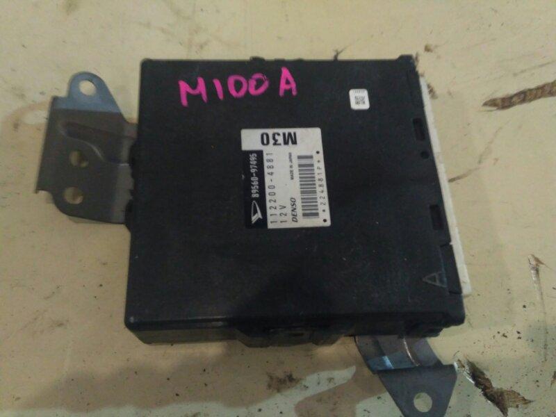 Блок управления двс Toyota Duet M100A EJ-VE 2000