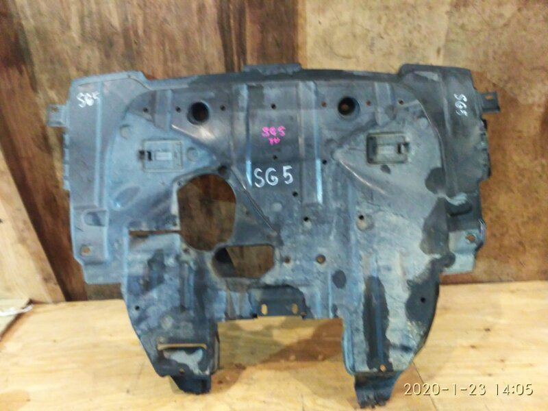 Защита двс Subaru Forester SG5 EJ20-T 2002