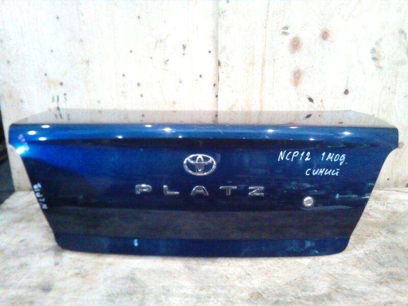 Крышка багажника Toyota Platz NCP12 1NZ-FE 2001