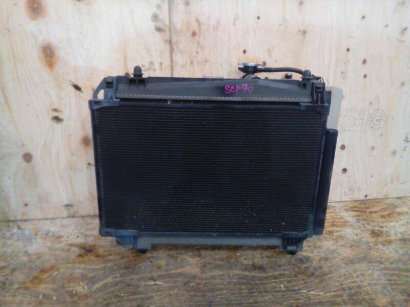Радиатор двигателя Toyota Vitz SCP90 2SZ-FE 2006