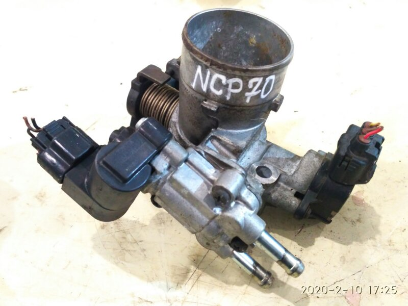 Заслонка дроссельная Toyota Will Cypha NCP70 2NZ-FE 2003