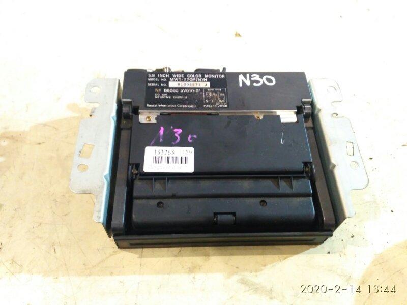 Телевизор в салон Nissan Rnessa N30 SR20DE 1998
