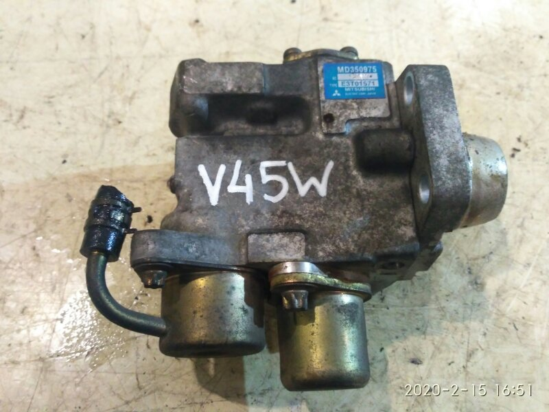 Тнвд Mitsubishi Pajero V45W 6G74 1997