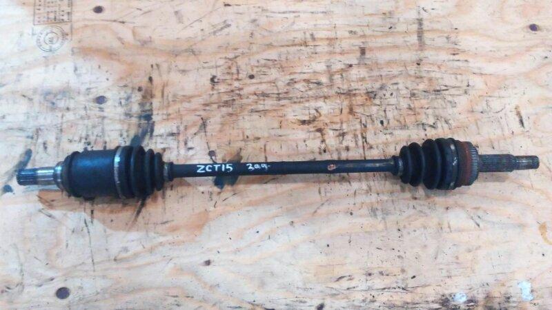 Привод Toyota Opa ZCT15 1ZZ-FE 2001 задний