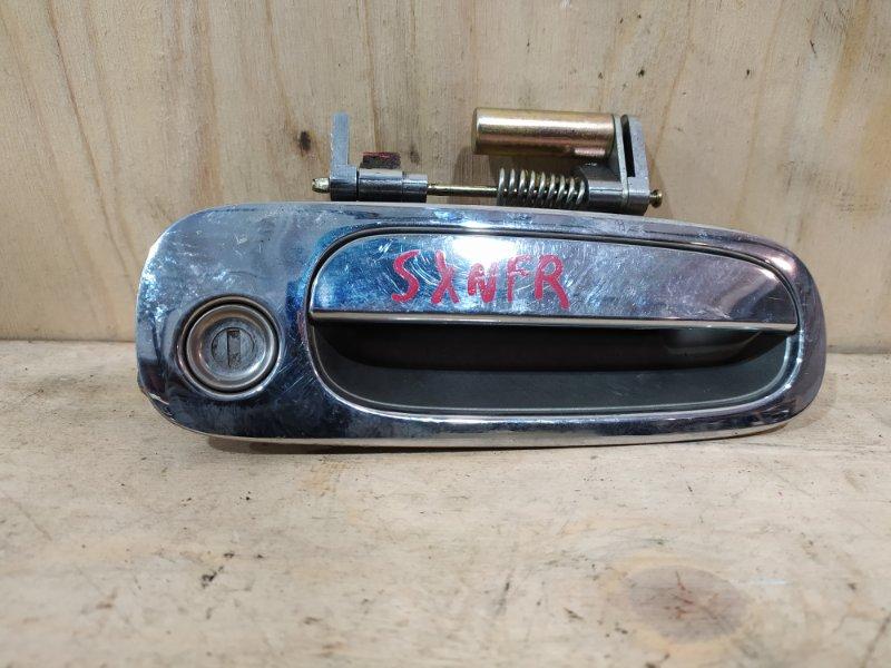 Ручка наружная Toyota Nadia SXN15 3S-FE 1999 передняя правая