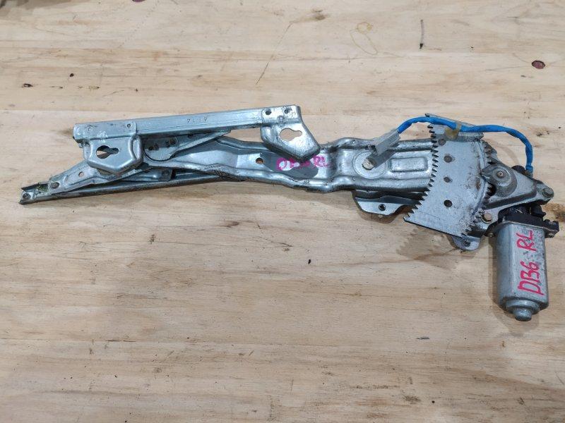 Стеклоподъемник Honda Integra DB6 ZC 1994 задний левый