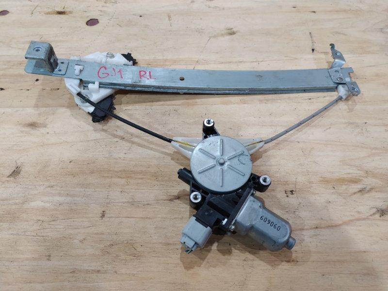 Стеклоподъемник Honda Airwave GJ1 L15A 2006 задний левый