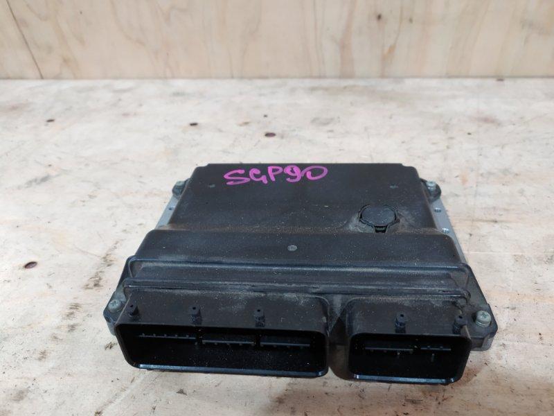 Блок управления двс Toyota Vitz SCP90 2SZ-FE 2006