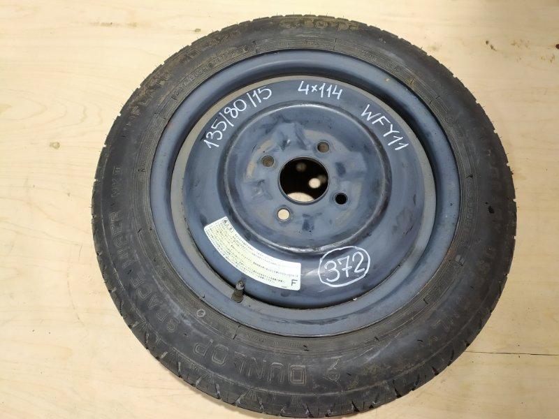 Запасное колесо Nissan Wingroad WFY11 QG15DE 2005
