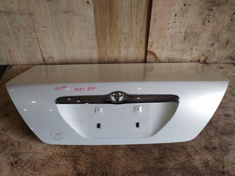 Крышка багажника Toyota Mark Ii GX110 1G-FE 2001
