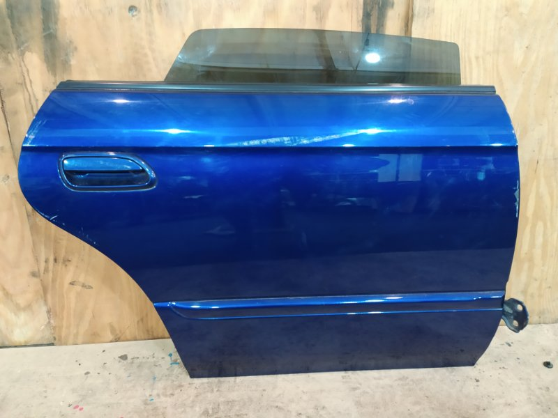 Дверь боковая Subaru Legacy BE5 EJ20-TT 2002 задняя правая