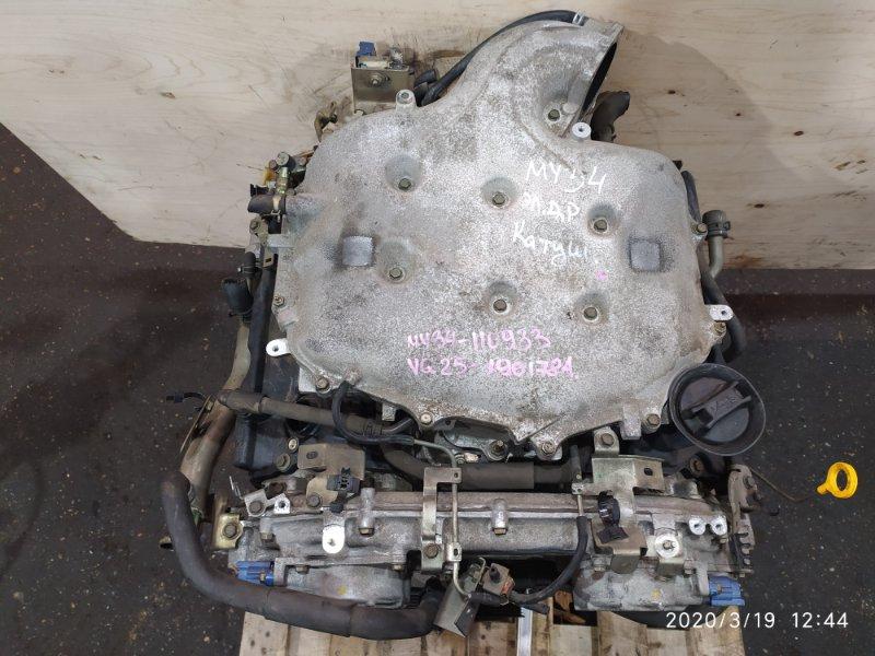 Двигатель Nissan Cedric MY34 VQ25DD 2002