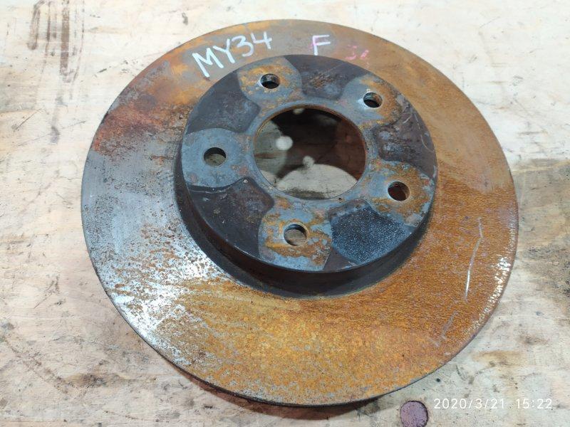 Диск тормозной Nissan Cedric MY34 VQ25DD 2002 передний