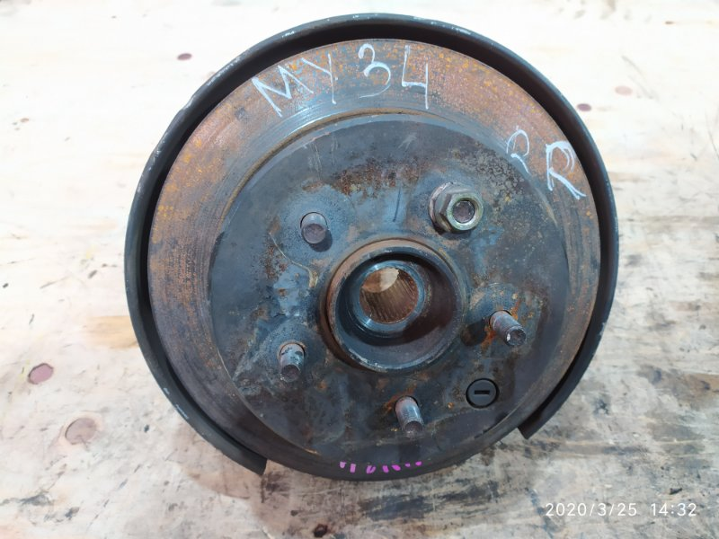 Ступица Nissan Cedric MY34 VQ25DD 2002 задняя правая