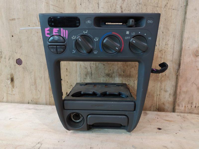 Блок управления климат-контролем Toyota Corolla EE111 4E-FE 1998