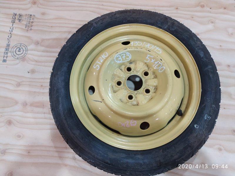 Запасное колесо Toyota Corona Premio ST210 3S-FSE 1998