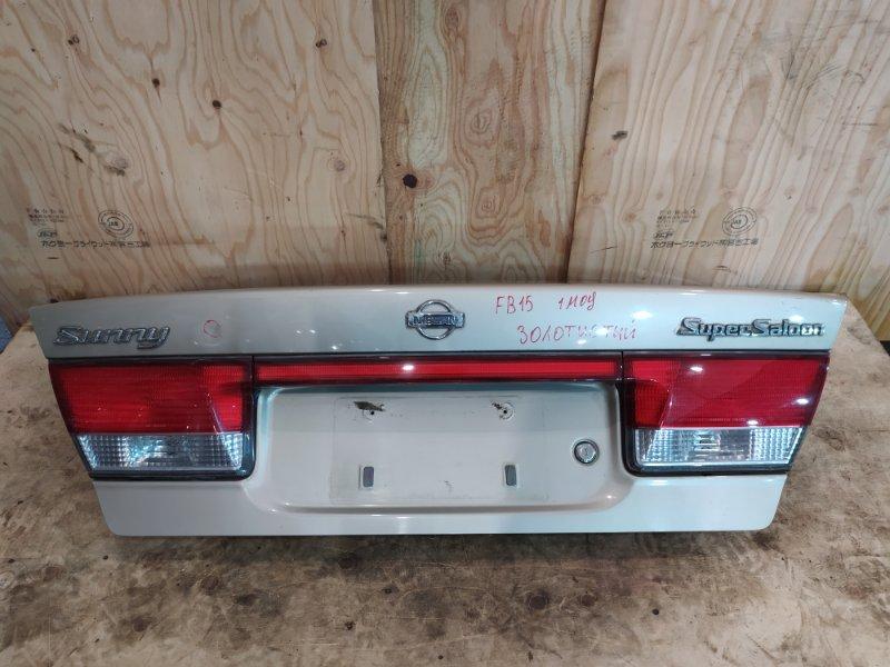 Крышка багажника Nissan Sunny FB15 QG15DE 2000