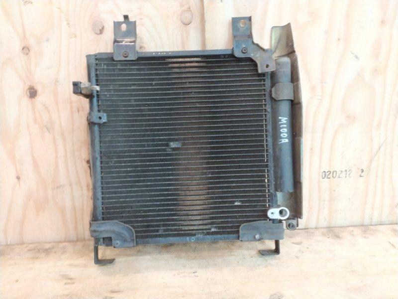 Радиатор кондиционера Toyota Duet M100A EJ-VE 2002