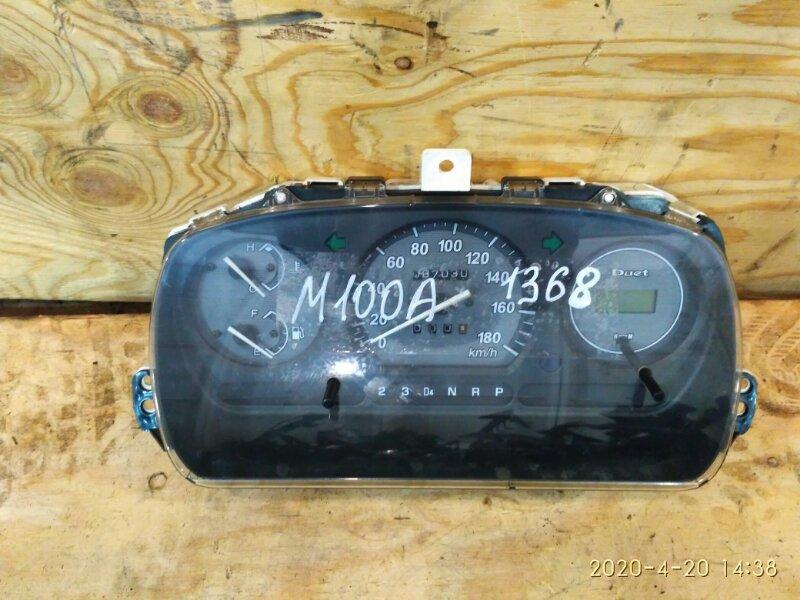 Комбинация приборов Toyota Duet M100A EJ-VE 2002