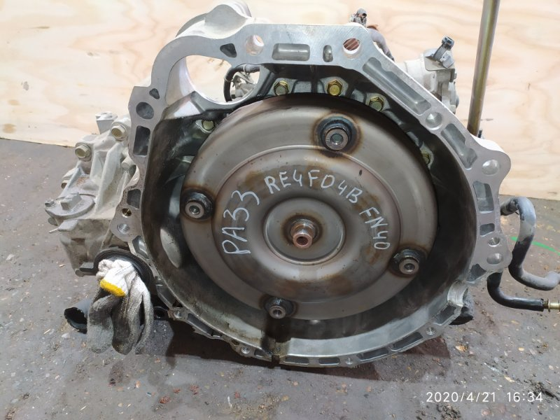 Акпп Nissan Cefiro PA33 VQ25DD 2001