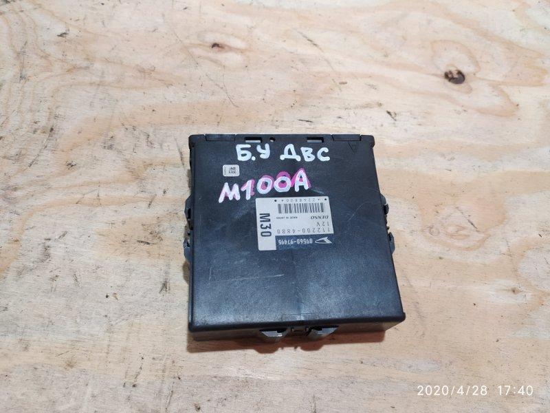Блок управления двс Toyota Duet M100A EJ-VE 2002