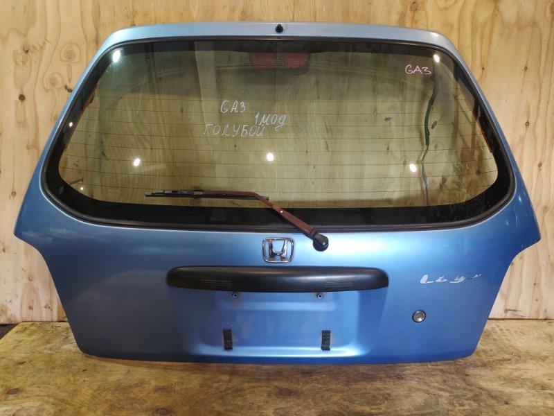 Дверь задняя багажника Honda Logo GA3 D13B 1997