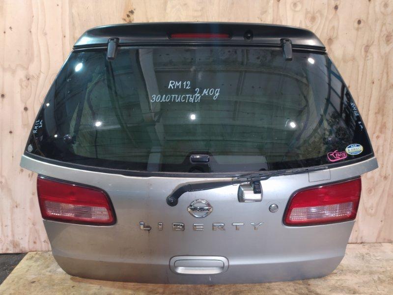 Дверь задняя багажника Nissan Liberty RM12 QR20DE 2003