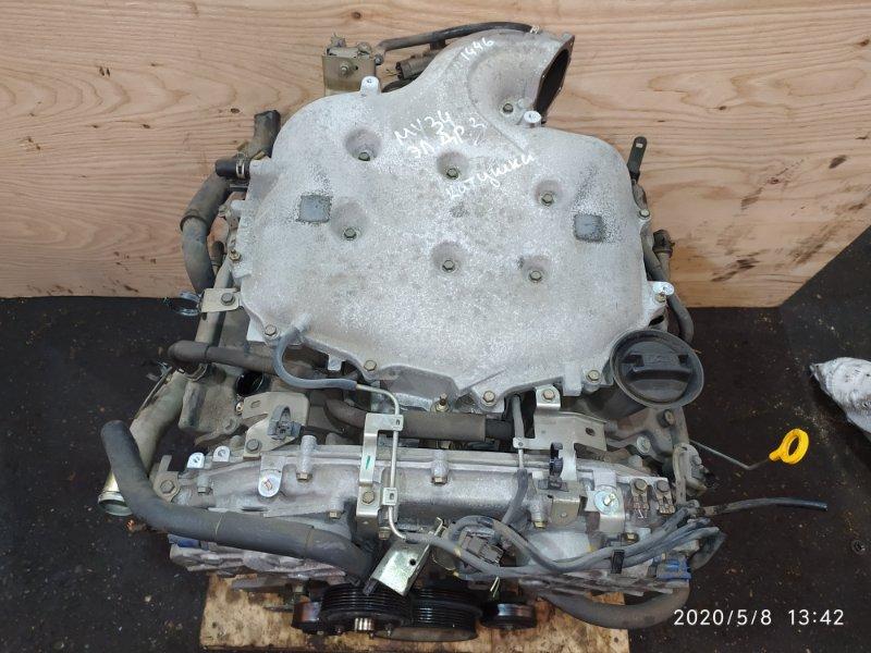 Двигатель Nissan Gloria MY34 VQ25DD 2002
