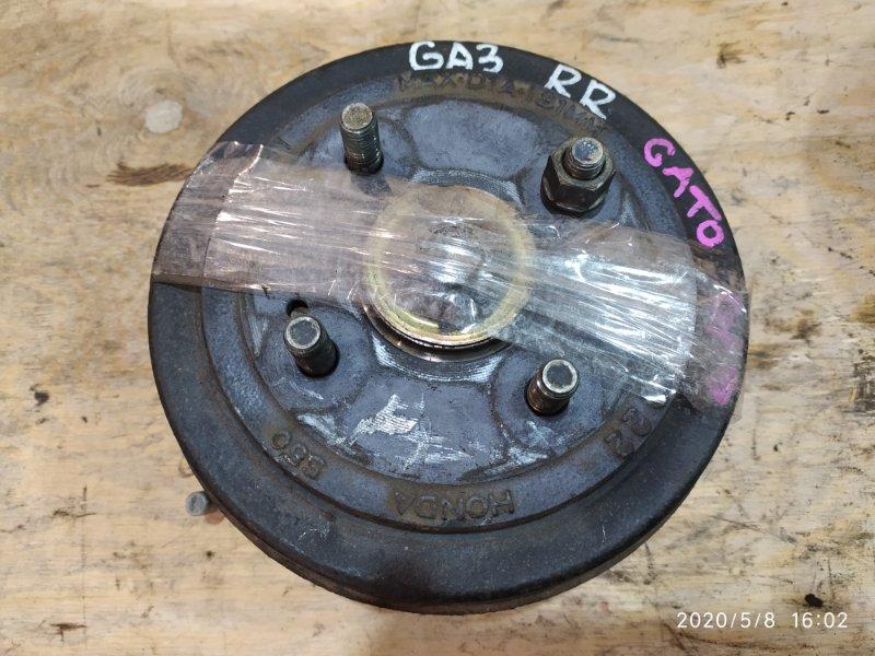 Ступица Honda Logo GA3 D13B 1997 задняя правая
