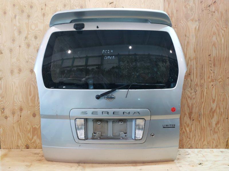Дверь задняя багажника Nissan Serena PC24 SR20DE 2001