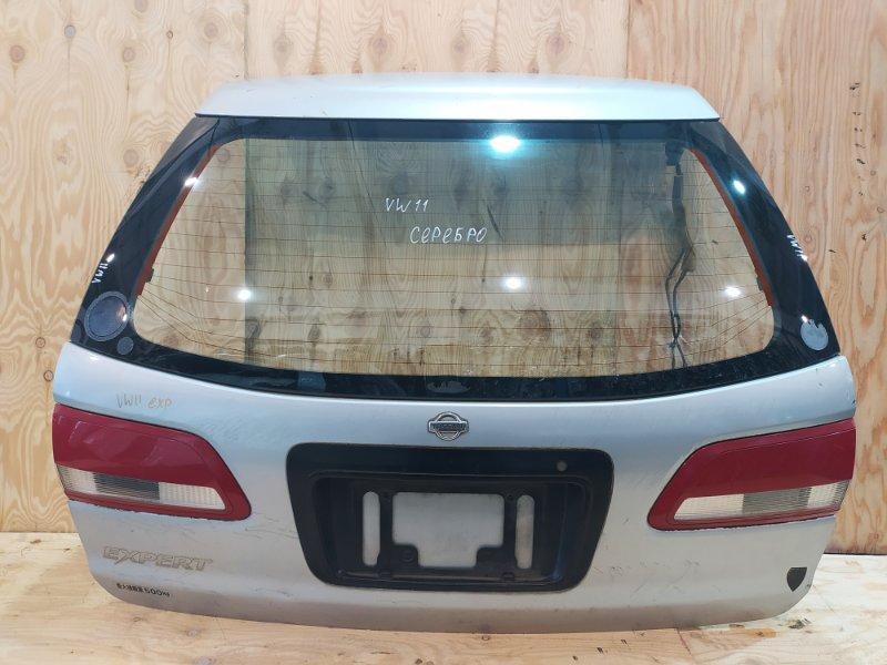 Дверь задняя багажника Nissan Expert VW11 QG18DE 2000