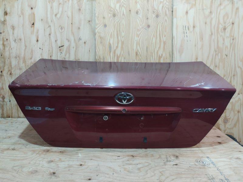 Крышка багажника Toyota Camry ACV35 2AZ-FE 2004