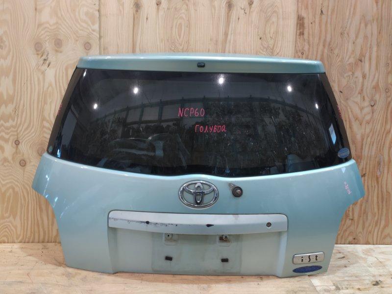 Дверь задняя багажника Toyota Ist NCP60 2NZ-FE 2003