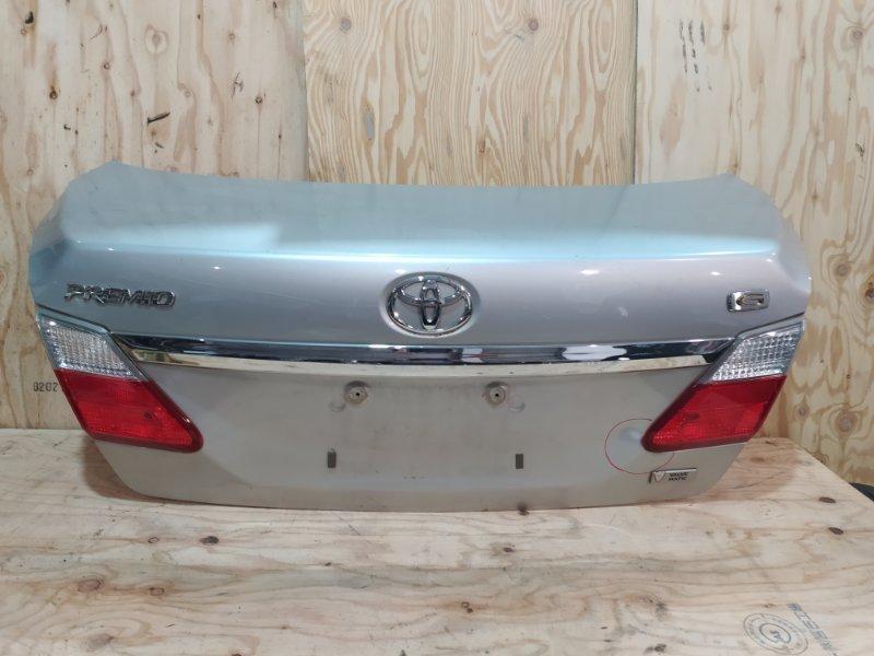 Крышка багажника Toyota Premio ZRT261 3ZR-FAE 2009