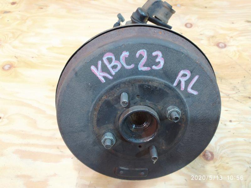 Ступица Nissan Serena KBC23 SR20DE 1997 задняя левая