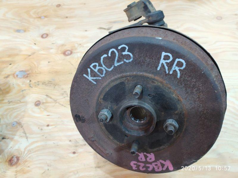 Ступица Nissan Serena KBC23 SR20DE 1997 задняя правая